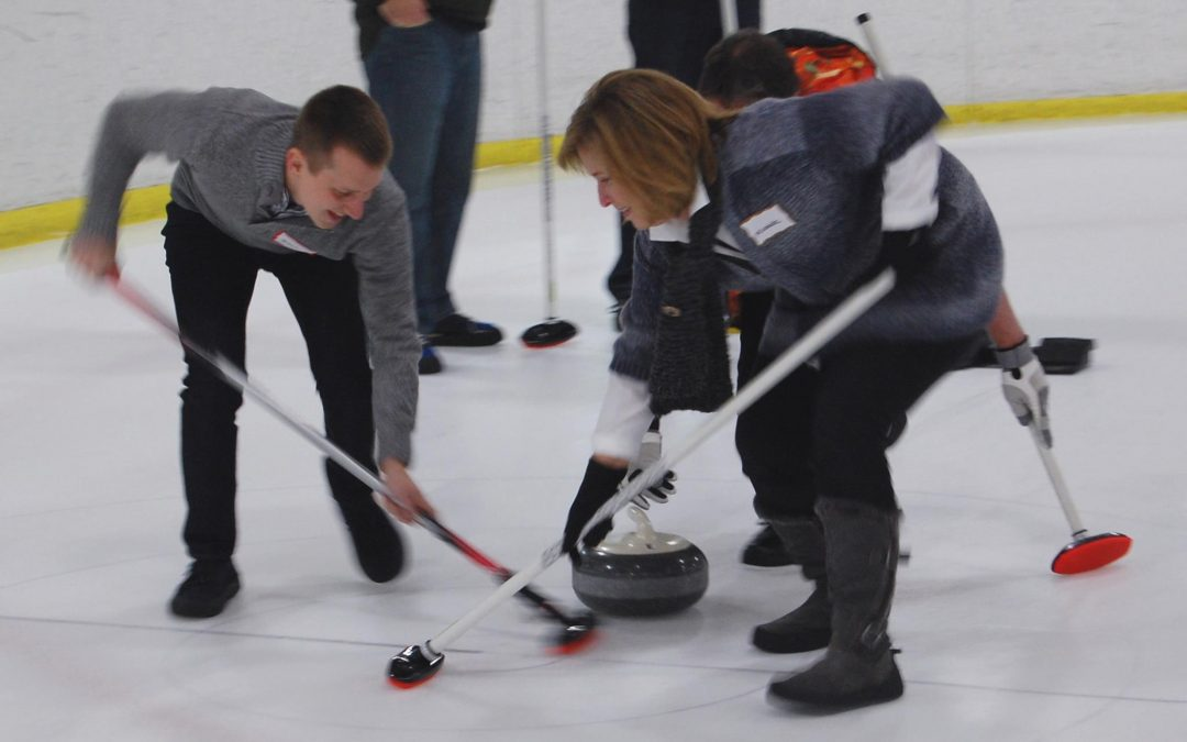 Curling is a lot harder than it looks!