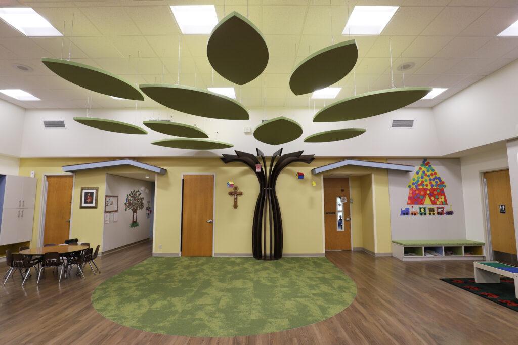CarmeliteCDC Multipurpose Room Tree